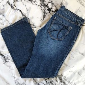 Low rise boot cut jeans New York & Company sz 4